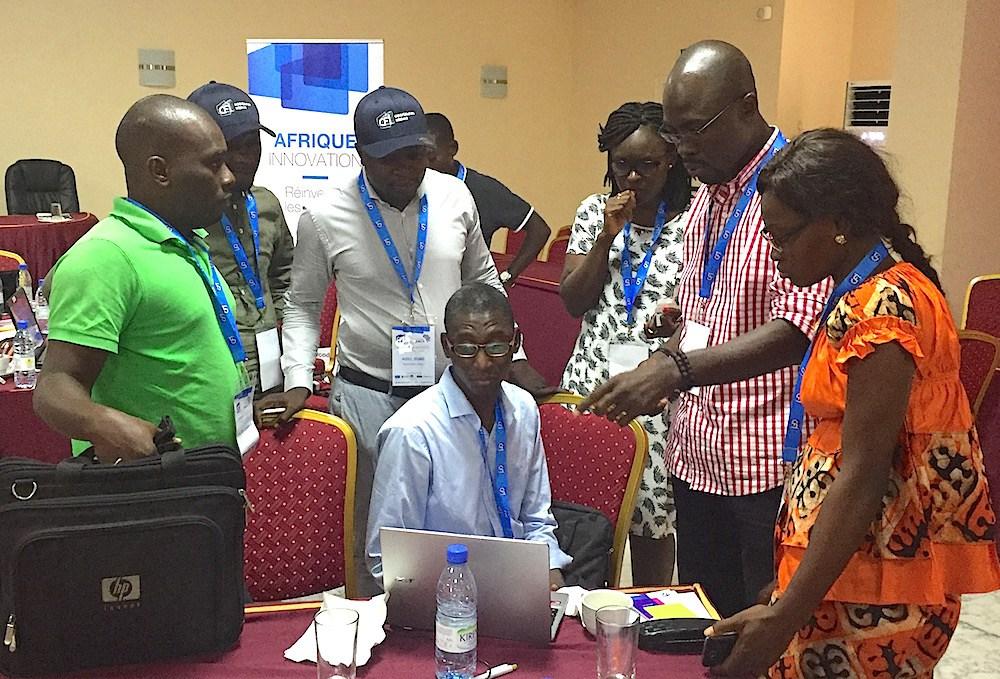20 porteurs de projets, 7 mentors et 3 invités, c'est le cocktail d'une session d'accélération de 5 jours. Cc photo : Samsa.fr