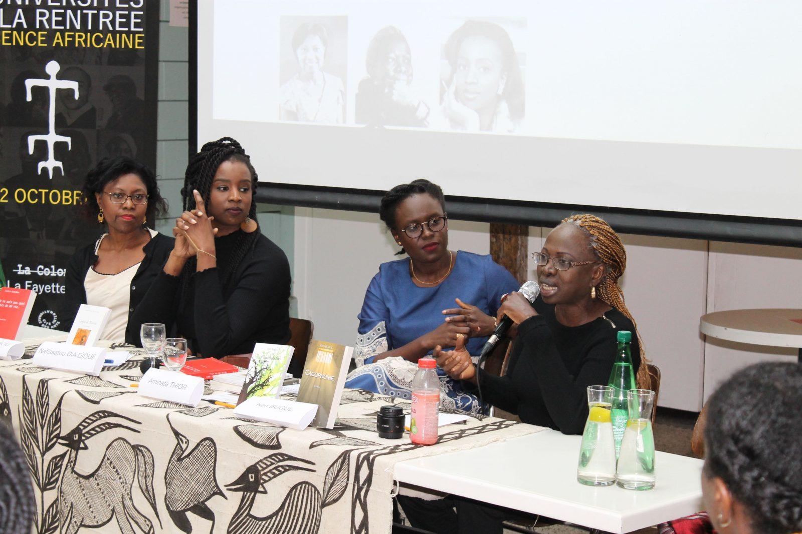 Table ronde sur le thème de la femme dans la littérature des Afriques